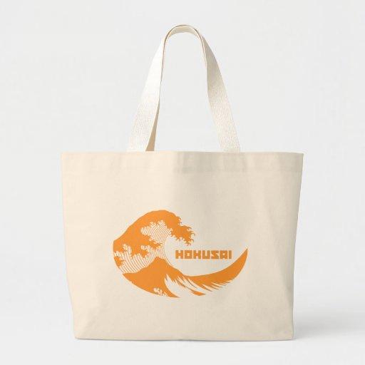 Hokusai - la gran onda bolsa de mano