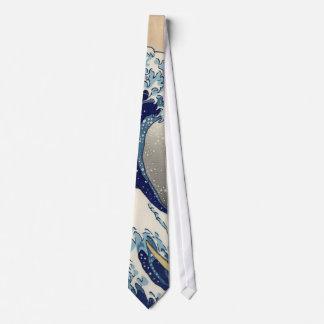 Hokusai: La gran onda de Kanagawa Corbata Personalizada