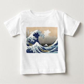 Hokusai: La gran onda de Kanagawa Playera De Bebé