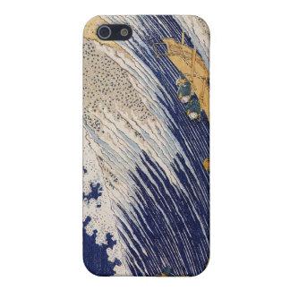 Hokusai - la gran onda en el arte de Kanagawas iPhone 5 Fundas