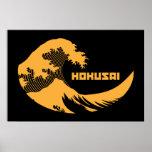 Hokusai - la gran onda poster