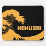 Hokusai - la gran onda tapete de raton