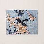Hokusai - Lilies puzzle