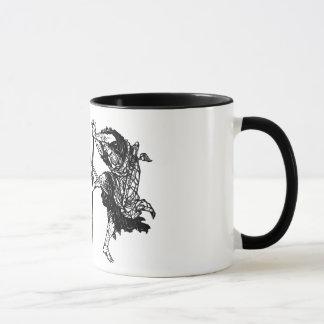 Hokusai manga samurai 1 mug