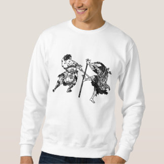Hokusai manga samurai 1 sweatshirt