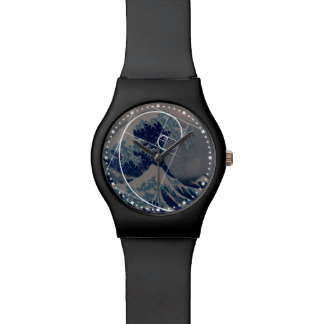 Hokusai Meets Fibonacci, Golden Ratio Wrist Watches