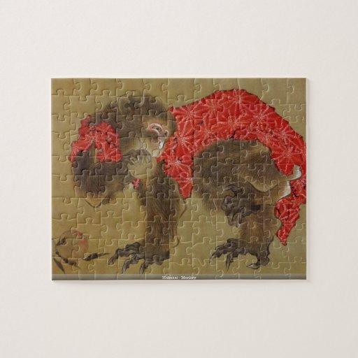Hokusai - Monkey puzzle
