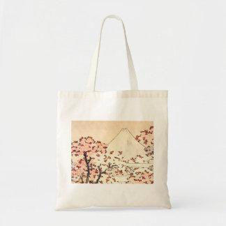 Hokusai Mount Fuji Cherry Blossoms Tote Bag