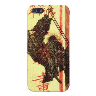 Hokusai Ninja iPhone 5 Fundas
