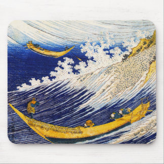 Hokusai Ocean Waves Mouse Pad
