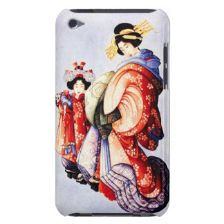Hokusai Oiran and Kamuro iPod Touch Case