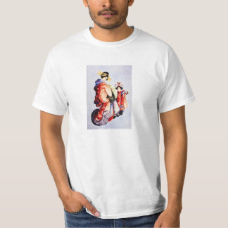 Hokusai Oiran and Kamuro T-shirt