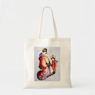 Hokusai Oiran and Kamuro Tote Bag