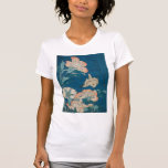 Hokusai Peonies and Canary GalleryHD T-shirts