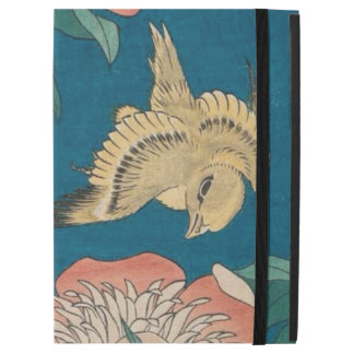 """Hokusai Peonies and Canary Vintage GalleryHD iPad Pro 12.9"""" Case"""