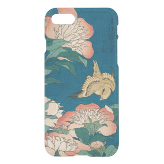 Hokusai Peonies and Canary Vintage GalleryHD iPhone 7 Case