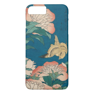 Hokusai Peonies and Canary Vintage GalleryHD iPhone 7 Plus Case