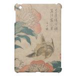 Hokusai Peony and Canary iPad Mini Covers