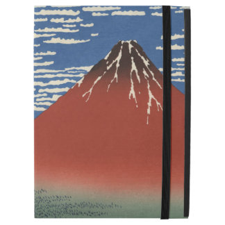 Hokusai Red Fuji South Wind Clear Sky GalleryHD iPad Pro Case