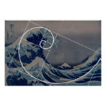 Hokusai resuelve Fibonacci, coeficiente de oro