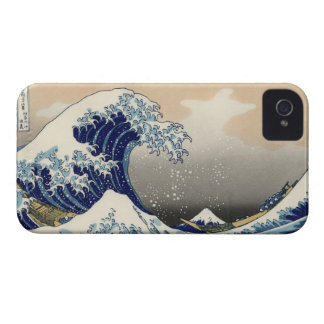 Hokusai s The Great Wave Off Kanagawa iPhone 4 iPhone 4 Case-Mate Cases