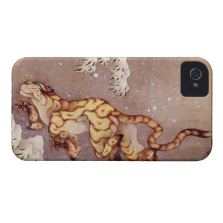 Hokusai s Tiger in the Snow iPhone 4 Case