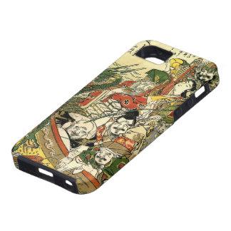 Hokusai siete dioses de 葛飾北斎 de la buena fortuna iPhone 5 Case-Mate funda