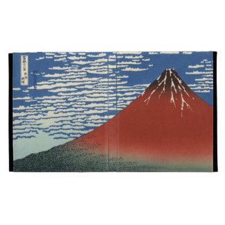 Hokusai South Wind Clear Sky Red Fuji iPad 3 Case iPad Folio Cases