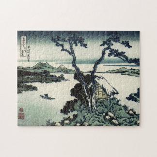 Hokusai- Suwa - See Jigsaw Puzzle