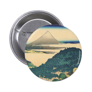 Hokusai: The Circular Pine Trees of Aoyama Pins