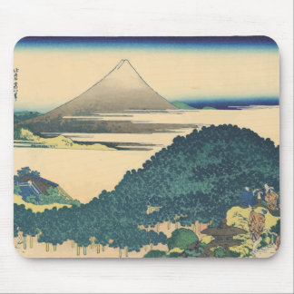 Hokusai: The Circular Pine Trees of Aoyama Mouse Pad