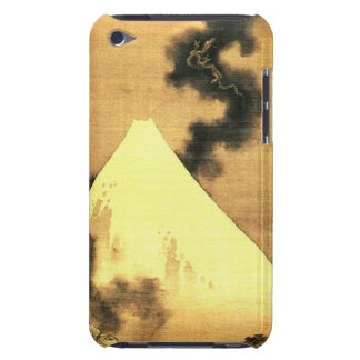 Hokusai The Dragon of Smoke Escaping Mount Fuji iPod Case-Mate Case