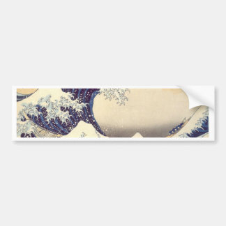 Hokusai 'The Great Wave' Bumper Sticker