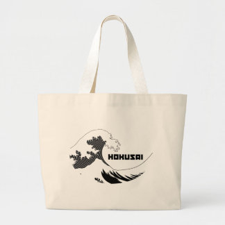 Hokusai - The Great Wave Canvas Bags