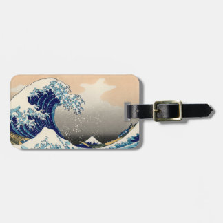Hokusai 'The Great Wave' Luggage Tag