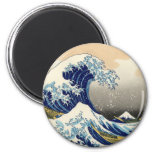 Hokusai The Great Wave Magnet