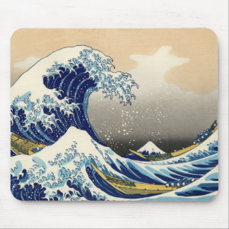 Hokusai The Great Wave Mouse Pad
