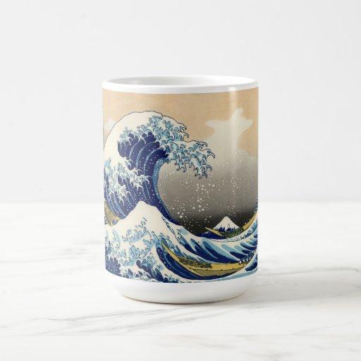 Hokusai The Great Wave Mug