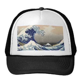 Hokusai: The great wave of Kanagawa Hat