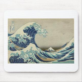 Hokusai - The Great Wave off Kanagawa Mouse Pad