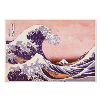 hokusai - The great Wave Poster