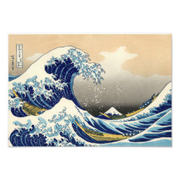 Hokusai The Great Wave Print
