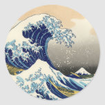 Hokusai The Great Wave Stickers