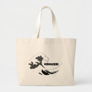 Hokusai - The Great Wave Tote Bags