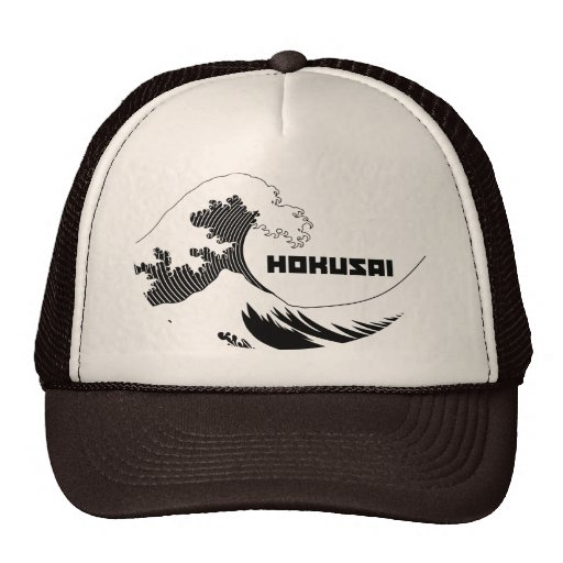 Hokusai - The Great Wave Trucker Hats