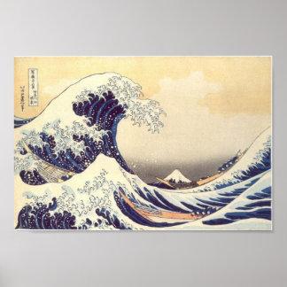 "Hokusai ""The Wave"" Poster"