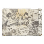 Hokusai - Three Women and Two Children Art Case For The iPad Mini