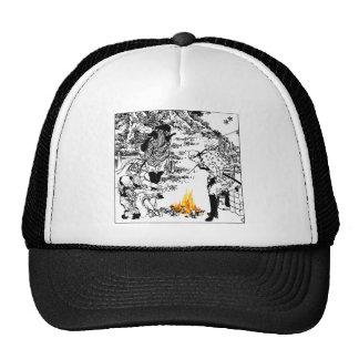 Hokusai travelers trucker hat
