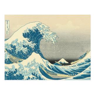 Hokusai - Under the Wave Off Kanagawa Post Card
