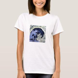 Hokusai Woman T-Shirt